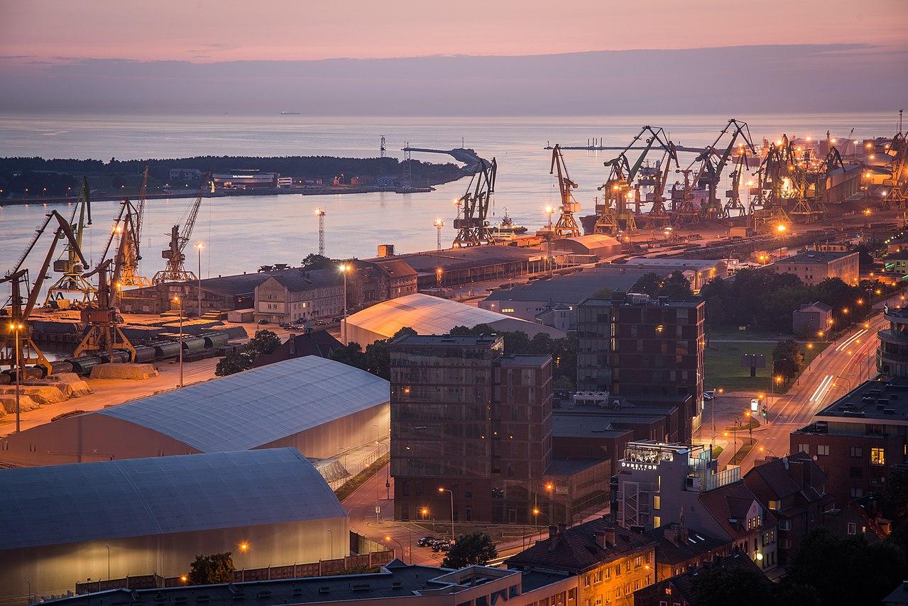Клайпедский порт