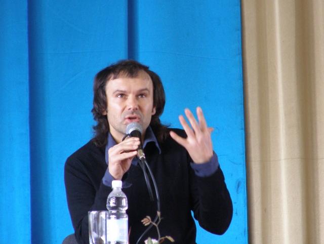 Святослав Вакарчук на пресс-конференции