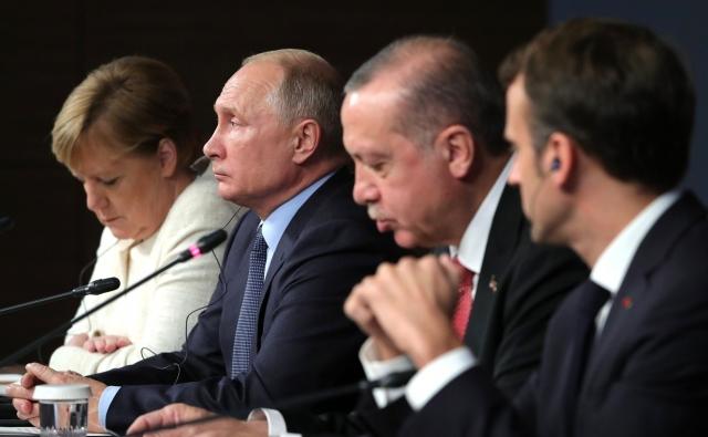 Встреча лидеров 4-х стран
