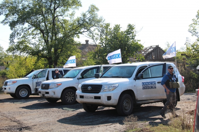 Представитель ОБСЕ рассказал о географии обстрелов в Донбассе