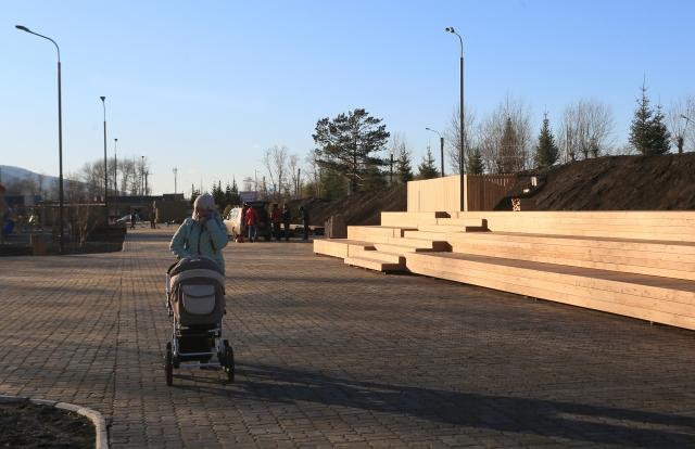 В Красноярске обустроены новые общественные пространства