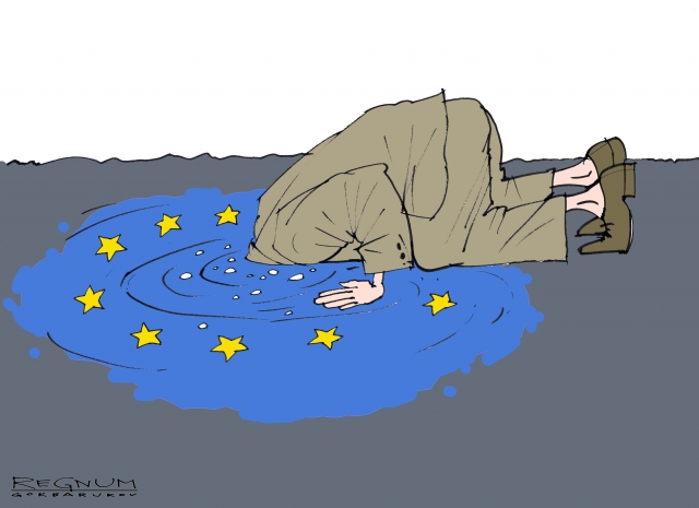 Украинцы лидируют по числу бежавших в ЕС