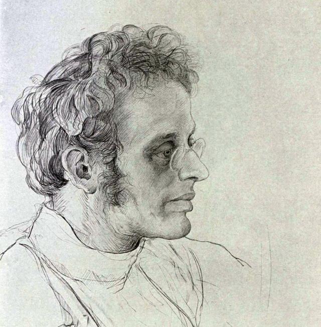 Исаак Бродский. Портрет Карда Радека. 1920