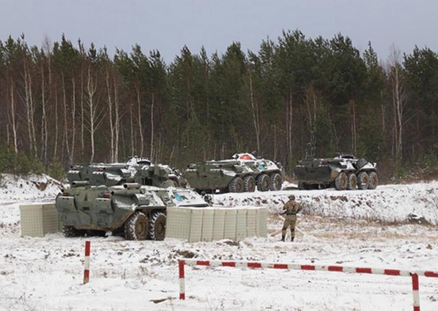 В Свердловской области военные шести стран отразили атаку «боевиков»