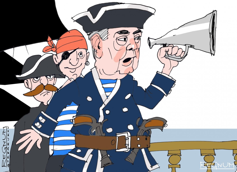 порошенко пират