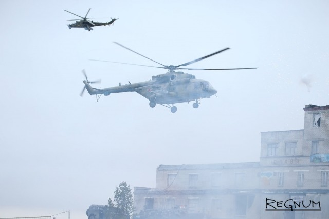Вертолёт «Ми-8»