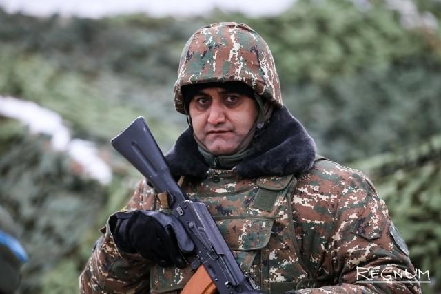 Военнослужащий из Армении