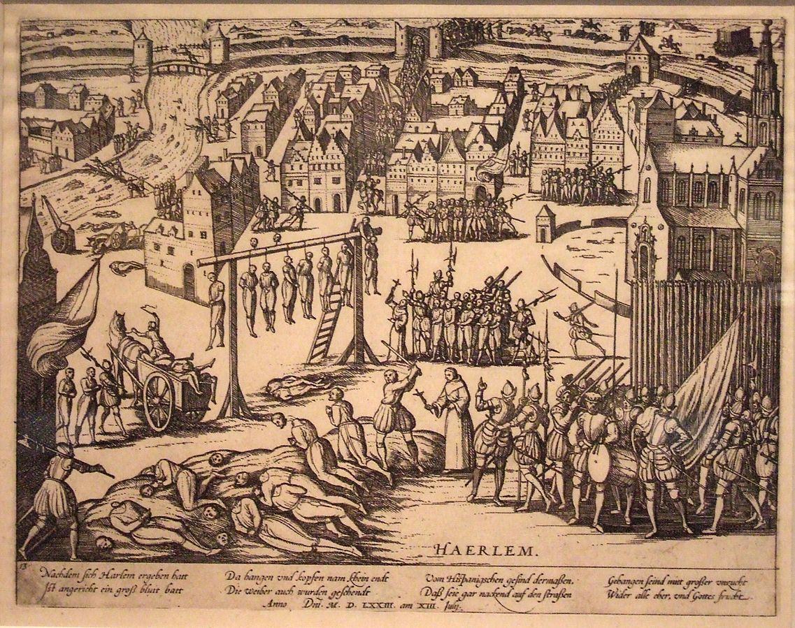 Зверства испанцев в Харлеме в 1573