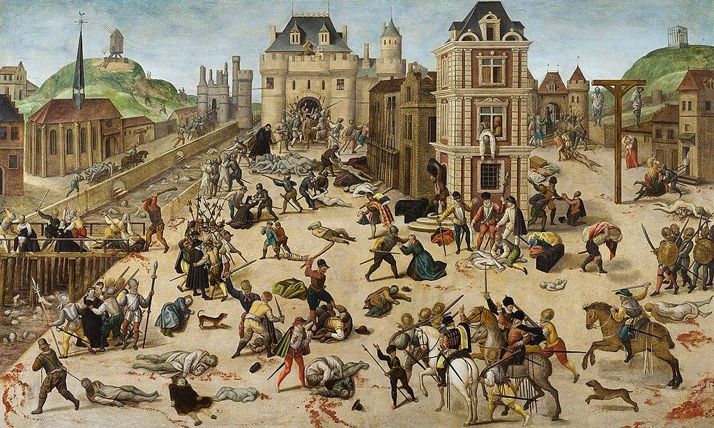 Франсуа Дюбуа. Варфоломеевская ночь. 1572