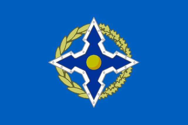 Флаг ОДКБ