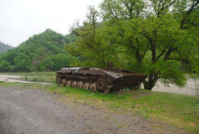 Брошенная военная техника. Нагорный Карабах
