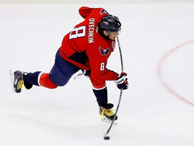 Овечкин вышел на восьмое место в НХЛ по числу голов в большинстве