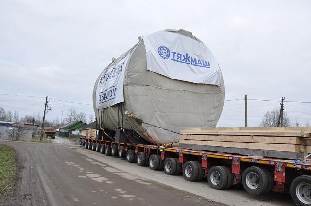 Крупный груз для Белорусской АЭС временно обесточит юг Новгородской области