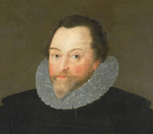 Маркус Герартс Младший. Портрет Фрэнсиса Дрейка. 1591