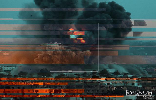 Турецкая артиллерия нанесла мощный удар по сирийскому городу Таль-Абъяд