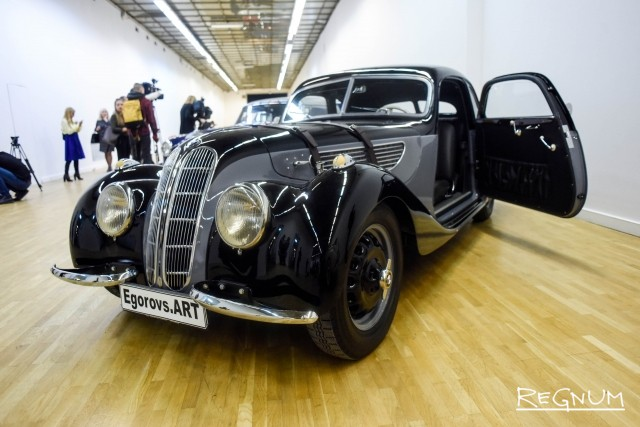 BMW 327 Coupe. 1939