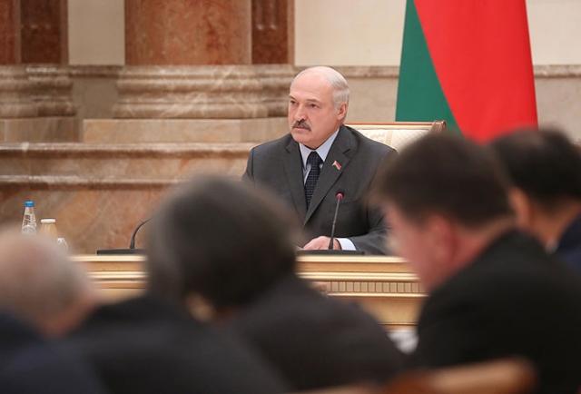 Александр Лукашенко на открытии встречи Основной группы Мюнхенской конференции по безопасности, 31 октября 2018 года