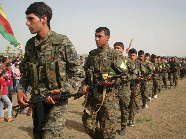 Курдские отряды народной самообороны (YPG)