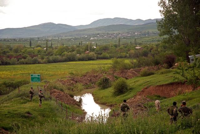 «Бордеризация» на границе Грузии и Южной Осетии