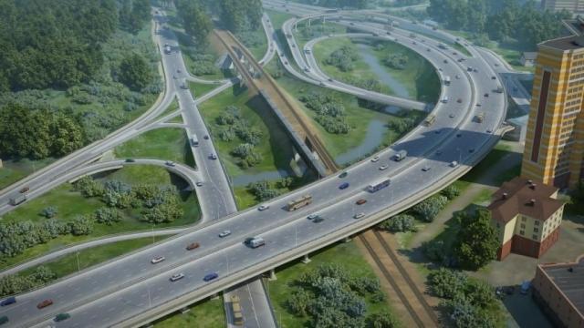 Проект планировки территории для строительства транспортной развязки на пересечении Волоколамского и Ильинского шоссе в Красногорском районе Московской области
