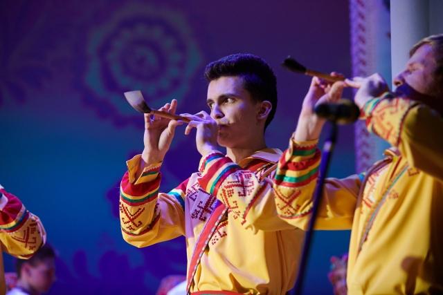 В калужском Обнинске открылся фестиваль народной музыки «Играй, рожок!»