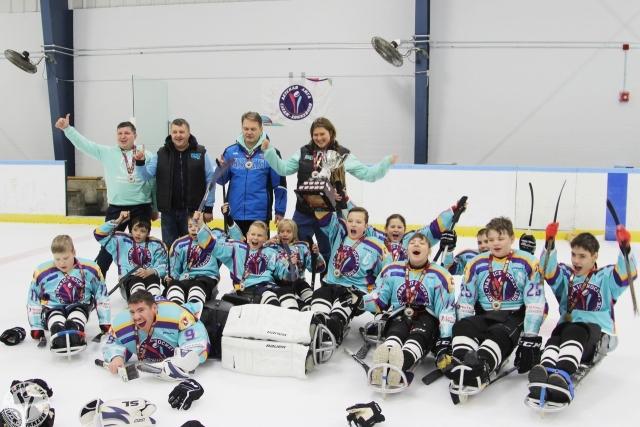 Детская команда по хоккею-следж стала победителем турнира