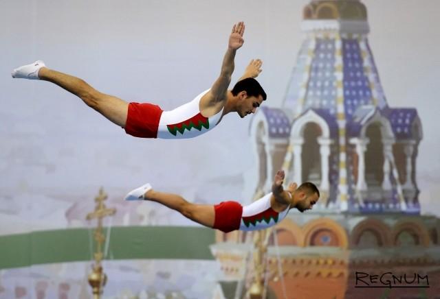 Российские спортсмены побеждают на чемпионате мира по прыжкам на батуте