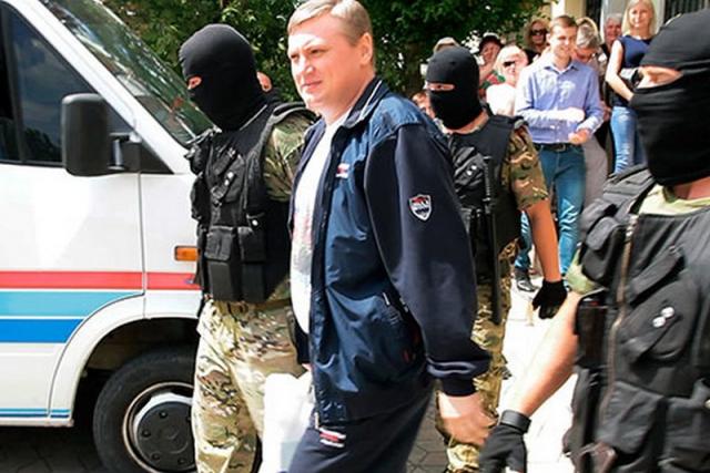 Олег Хоржан под стражей