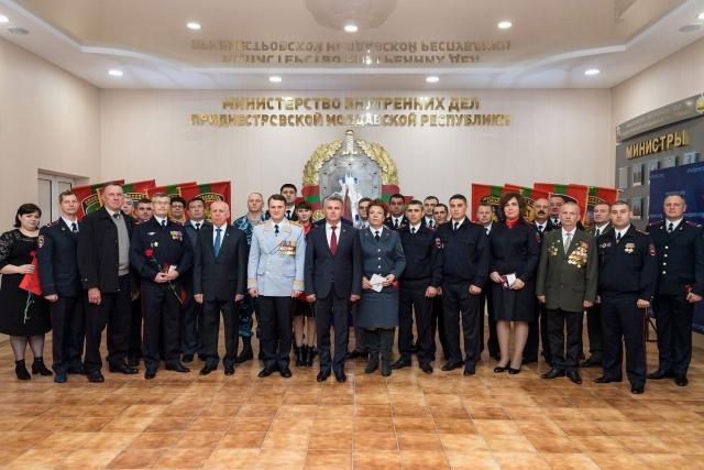 День милиции в Приднестровье