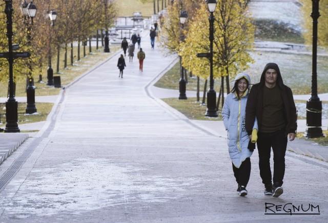 Снег выпадет в Москве уже в начале следующей недели