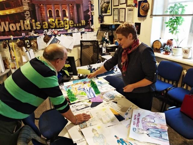 В Калуге назвали победителей конкурса детских рисунков о полиции
