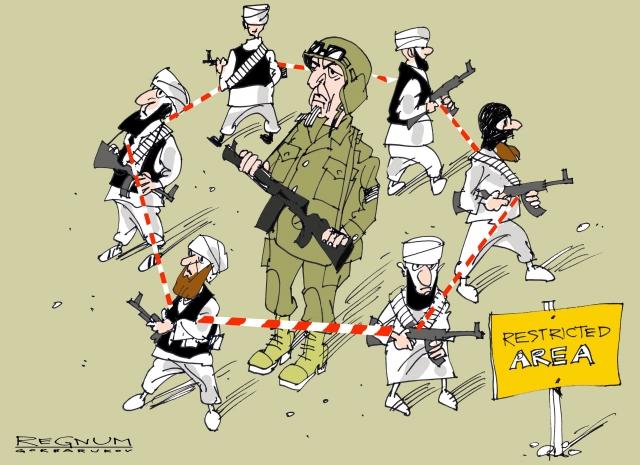 Нашествие на Украину террористов и радикалов. Расплата Киева за любовь