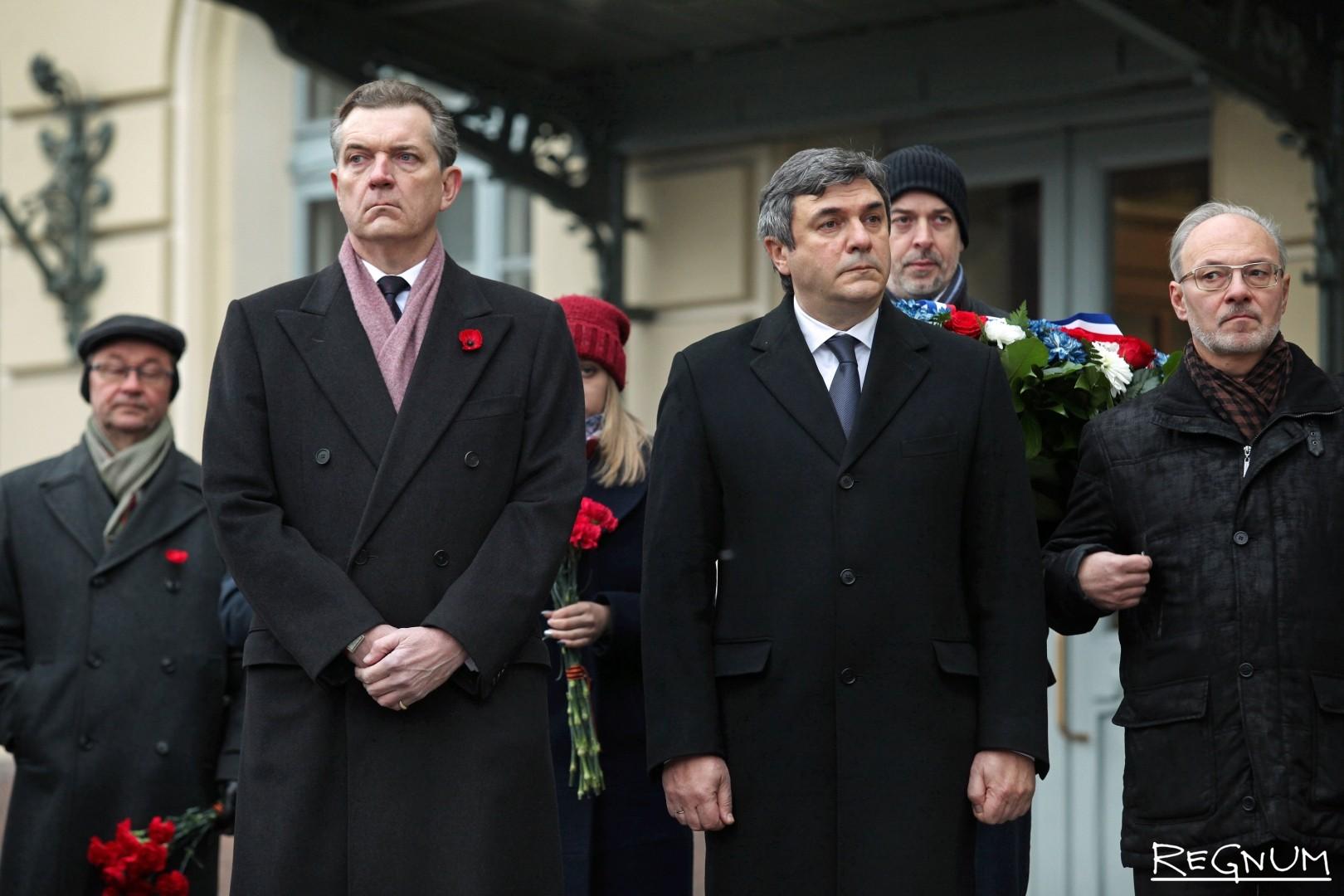 Петер Теш и Вячеслав Калганов