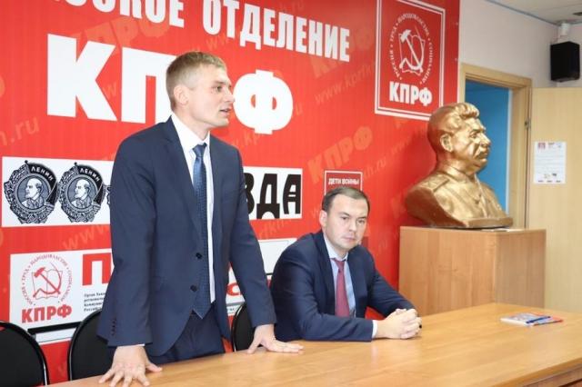 Коммунист побеждает во втором туре выборов главы Хакасии