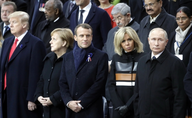 Путин дал оценку беседе с Трампом в Париже