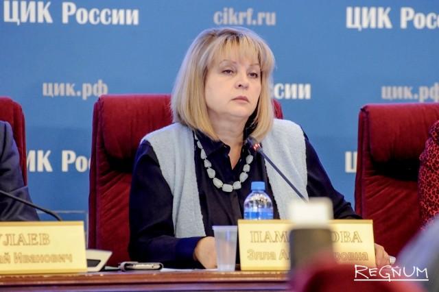 Памфилова выступила против «досрочки» на муниципальных выборах в Петербурге