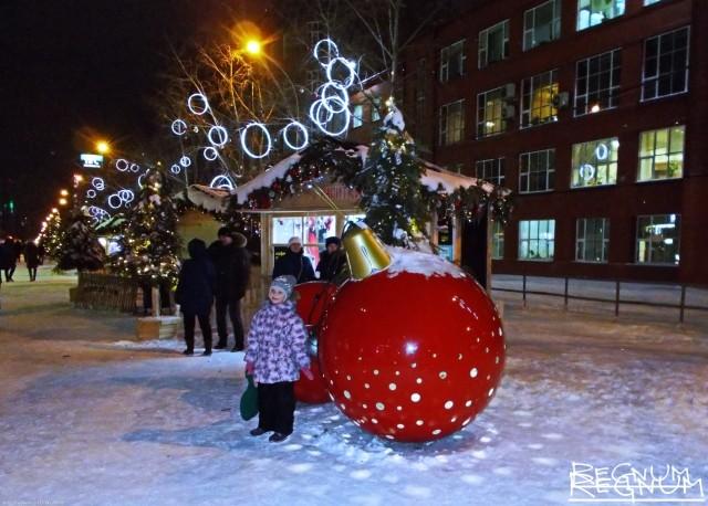 В мэрии Новосибирска нет согласия по перекрытию улицы Ленина на Новый год