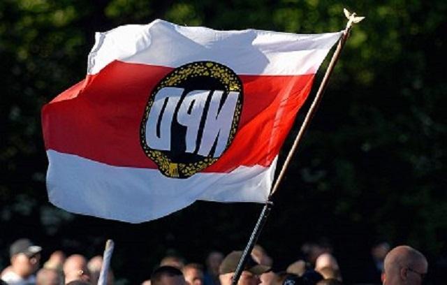 Флаг Национал-демократической партии Германии