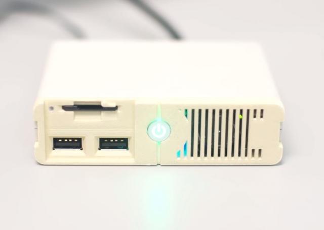 Игровой компьютер на ладони: анонс PC Classic
