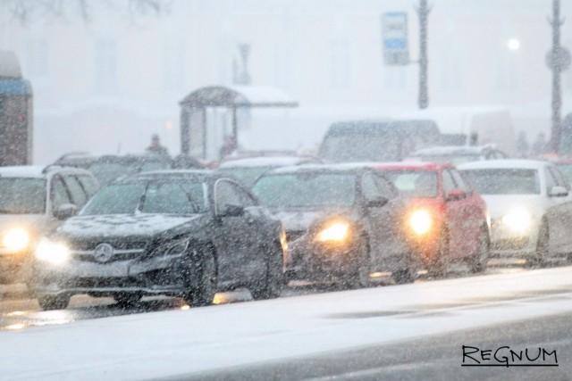 Последствия снегопада в Ростовской области: отменен междугородний транспорт