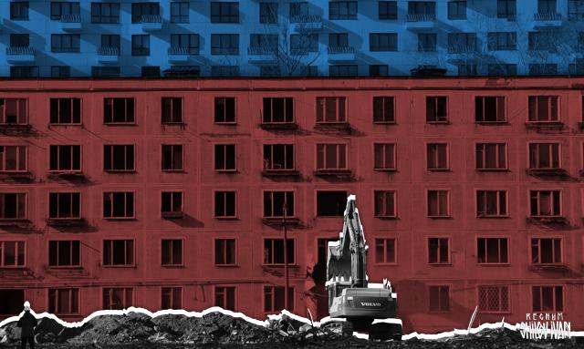 В Оренбурге новостройка для переселенцев превратилась в аварийное жильё