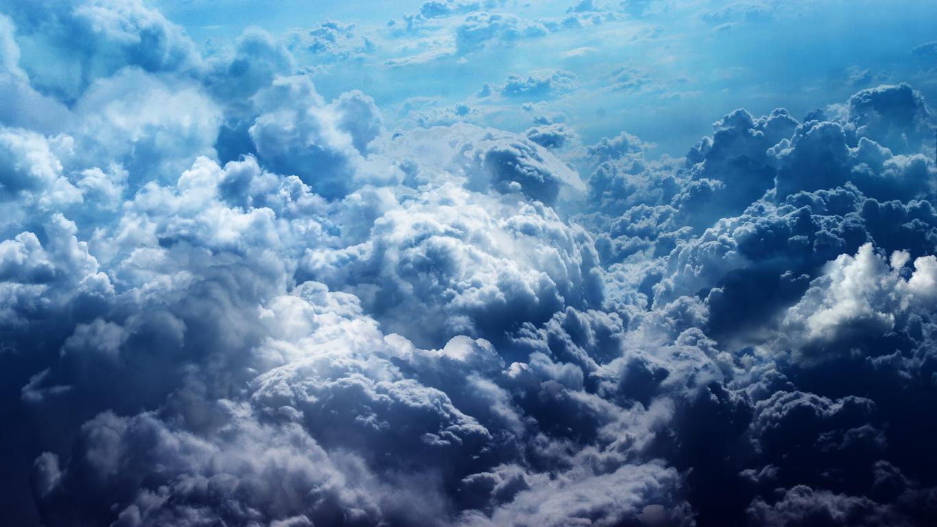 Небо закрытое облаками