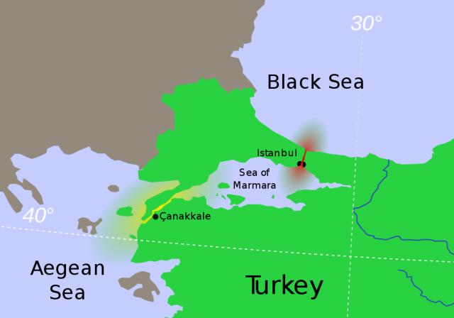 Украина грозит России перекрыть проливы Босфор и Дарданеллы для судов