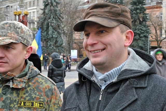 Степан Барна (справа)