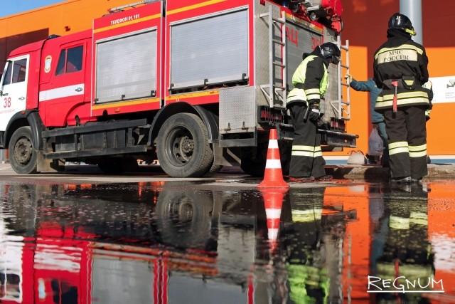 Локализован пожар на НПЗ в Капотне