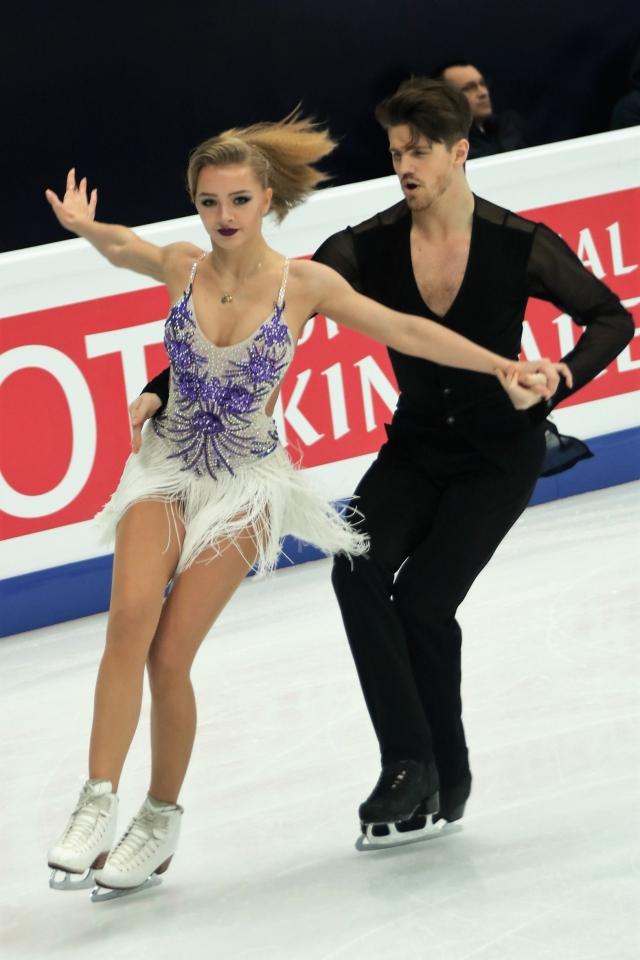Фигуристы Степанова и Букин установили мировой рекорд в Москве