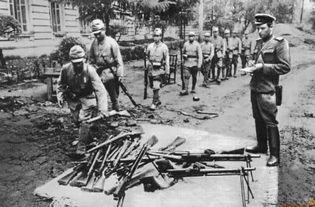 Разгром квантунской армии. 1945