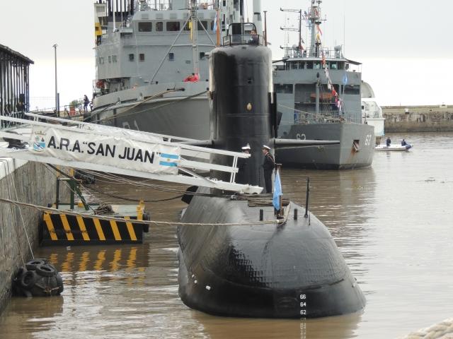 ВМС Аргентины не смогут поднять «Сан-Хуан» со дна океана