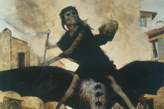 Бёклин Арнольд. Чума. 1898