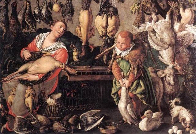Винченцо Кампи. Кухня. 1580